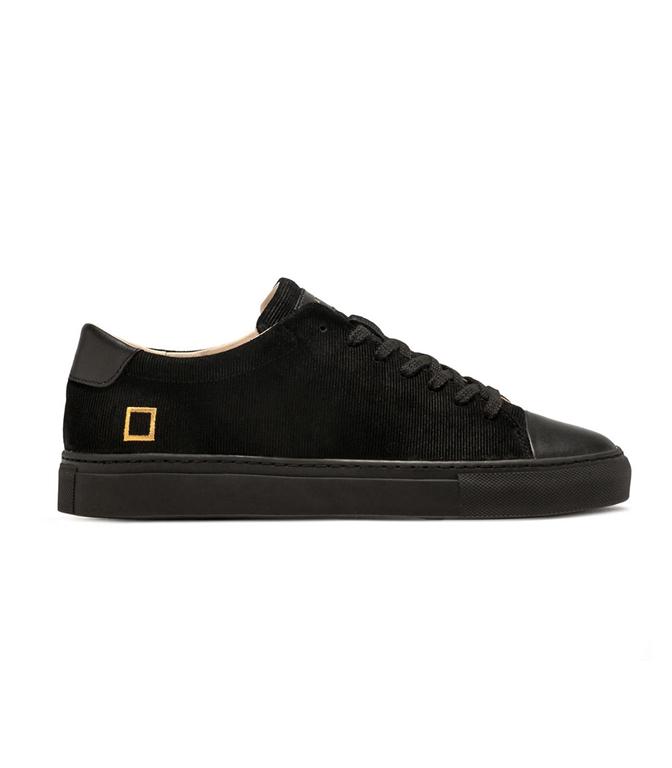 D.A.T.E. - Scarpe - Sneakers - ACE VELOUR BLACK