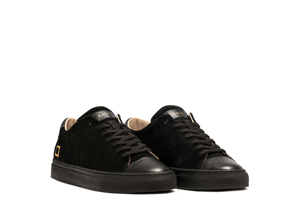 D.A.T.E. - Scarpe - Sneakers - ace velour black 1