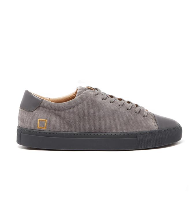 D.A.T.E. - Scarpe - Sneakers - ace velour grey