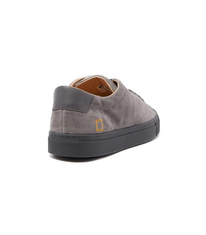 D.A.T.E. - Scarpe - Sneakers - ace velour grey 1