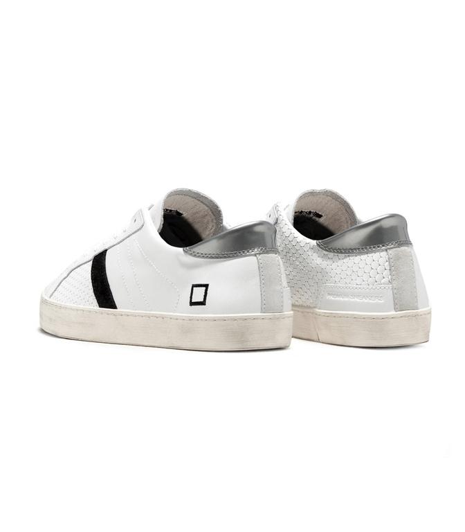 D.A.T.E. - Scarpe - Sneakers - hill low half pong white 1