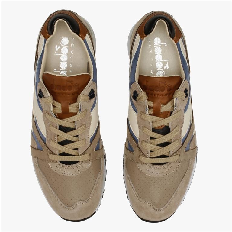 Diadora Heritage - Scarpe - Sneakers - n9000 h ita beige taupe/marrone tabacco 2