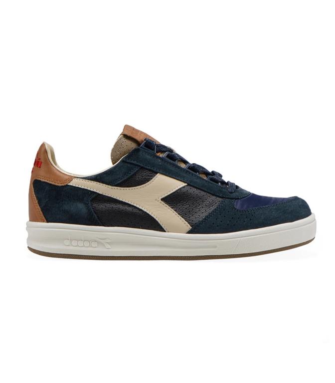 Diadora Heritage - Scarpe - Sneakers - b.elite ita 2 blu profondo/marrone tabacco