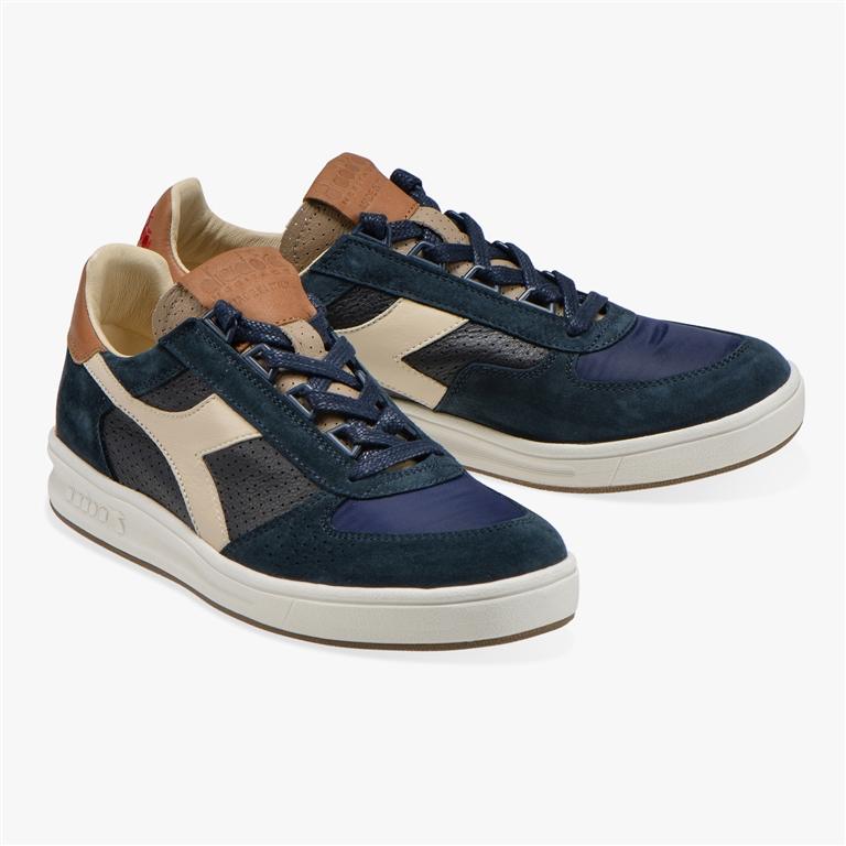 Diadora Heritage - Scarpe - Sneakers - b.elite ita 2 blu profondo/marrone tabacco 1