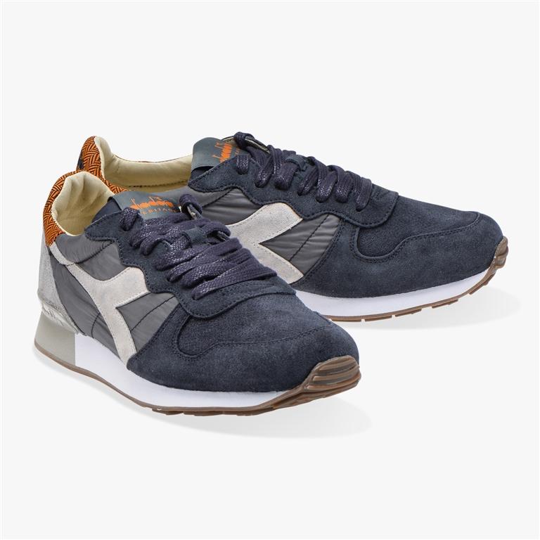 Diadora Heritage - Scarpe - Sneakers - camaro h s sw grigio castello/bianco 1