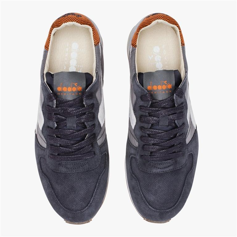 Diadora Heritage - Scarpe - Sneakers - camaro h s sw grigio castello/bianco 2