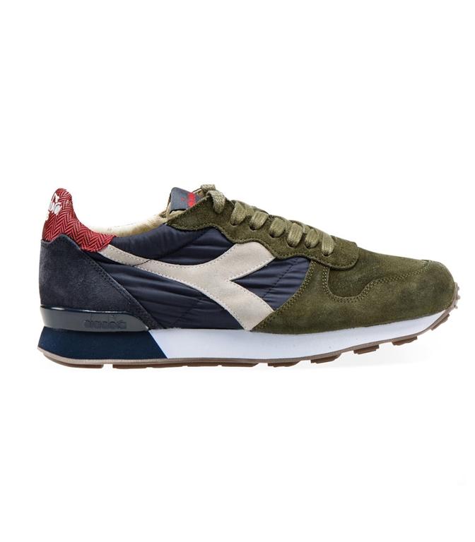 Diadora Heritage - Scarpe - Sneakers - camaro h s sw verde oliva/blu profondo