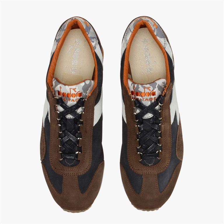 Diadora Heritage - Scarpe - Sneakers - equipe evo camo blu profondo 2