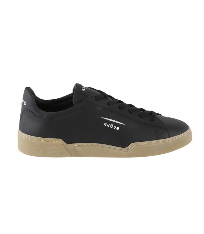 Ghoud Venice - Outlet - sneaker in pelle liscia black