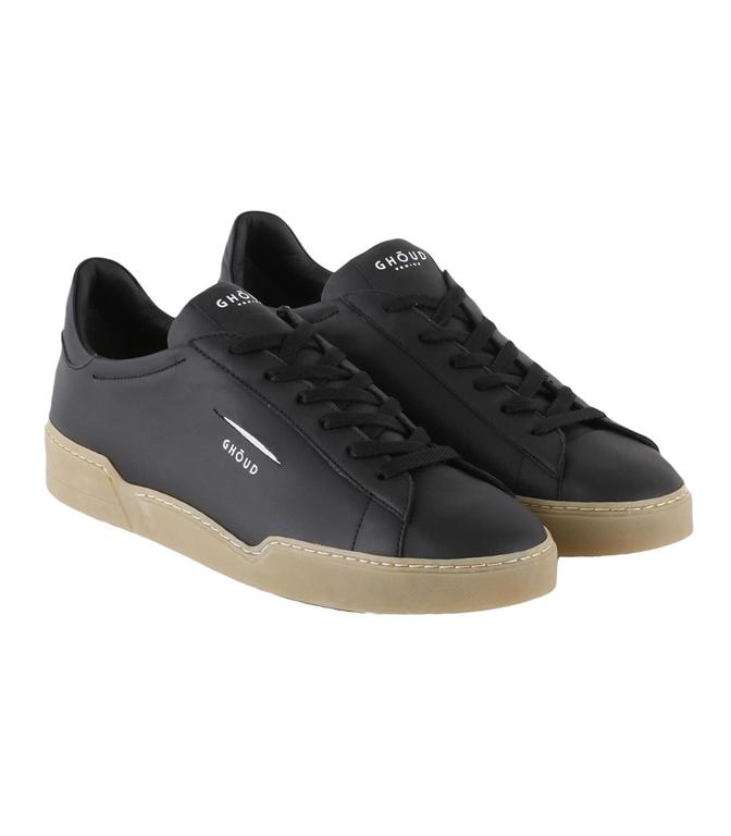 Ghoud Venice - Saldi - sneaker in pelle liscia black 1