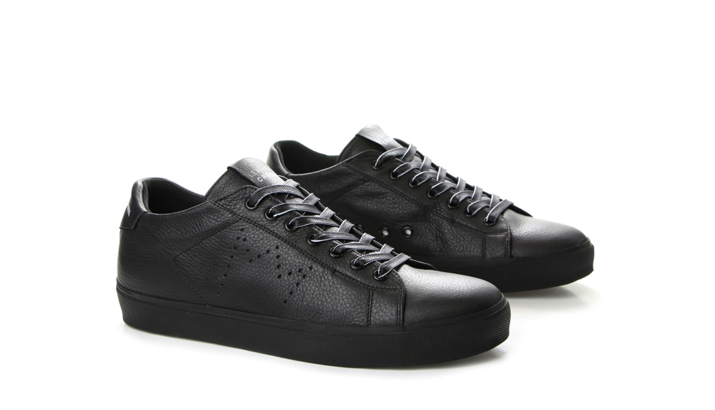 Leather Crown - Saldi - sneaker m iconic black 1