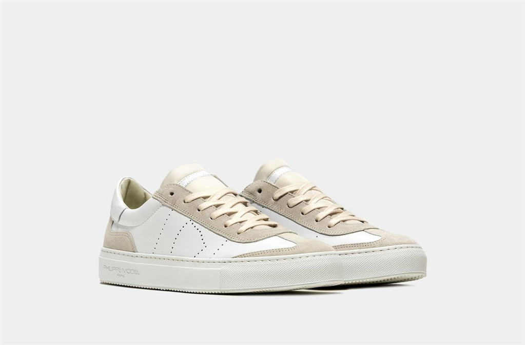 Philippe Model - Scarpe - Sneakers - belleville - veau blanc 1