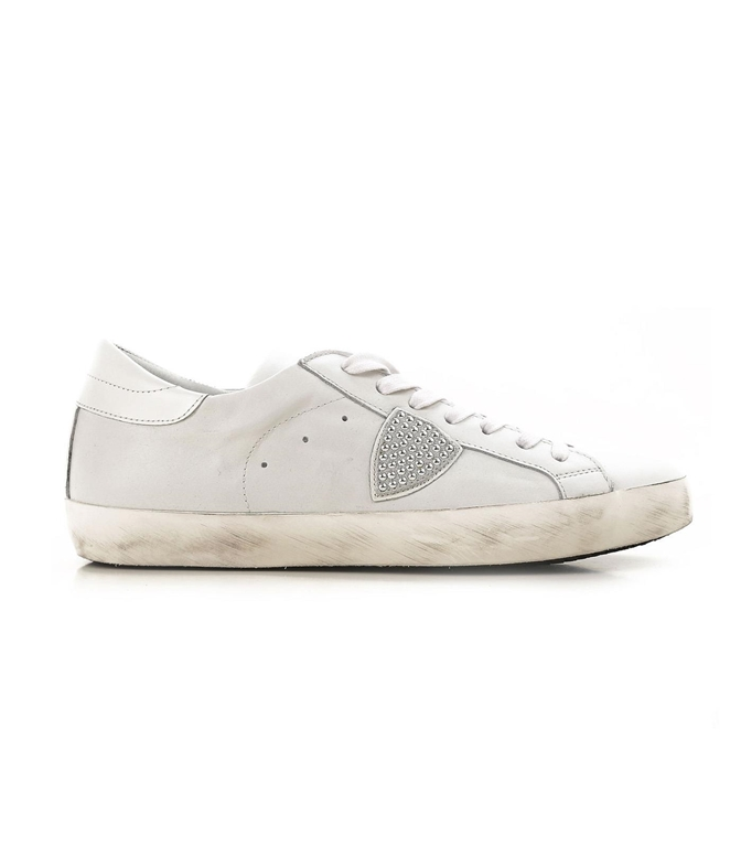 Philippe Model - Scarpe - Sneakers - PARIS - STUDS BLANC/STUDS/ARGENT