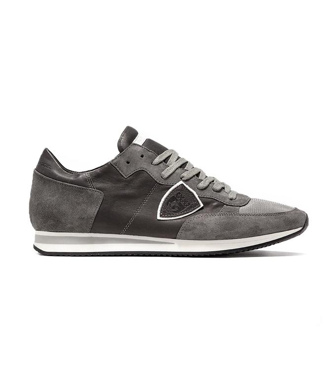 Philippe Model - Scarpe - Sneakers - TROPEZ - VEAU GRIS