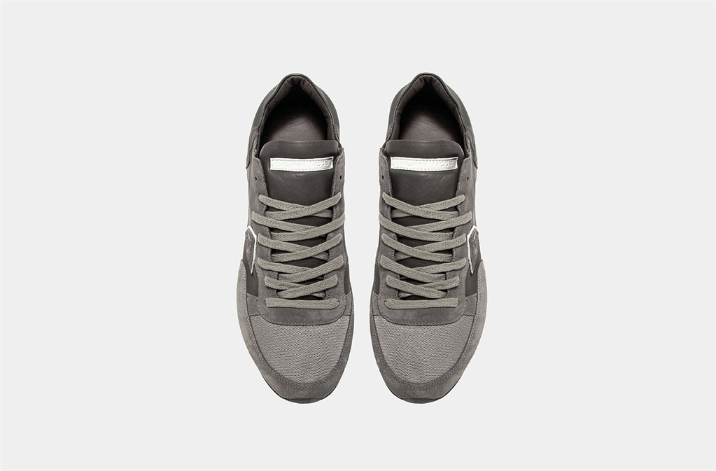 Philippe Model - Scarpe - Sneakers - tropez - veau gris 2