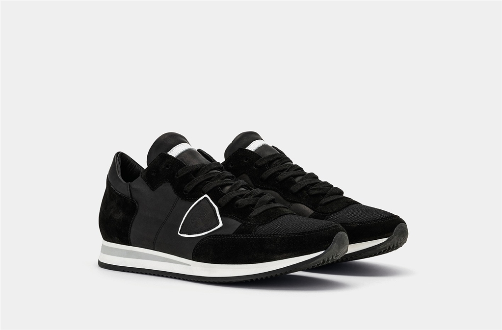 Philippe Model - Scarpe - Sneakers - tropez - veau noir 1