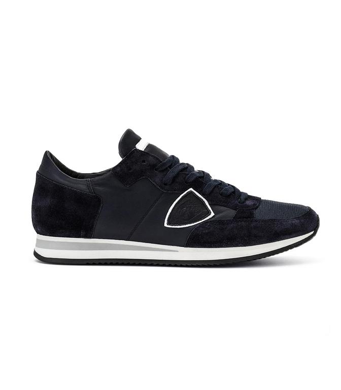 Philippe Model - Scarpe - Sneakers - TROPEZ - VEAU BLEU