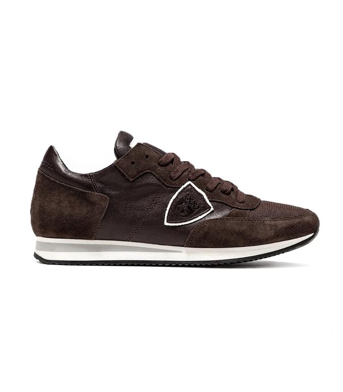 Philippe Model - Scarpe - Sneakers - TROPEZ - VEAU BRUN