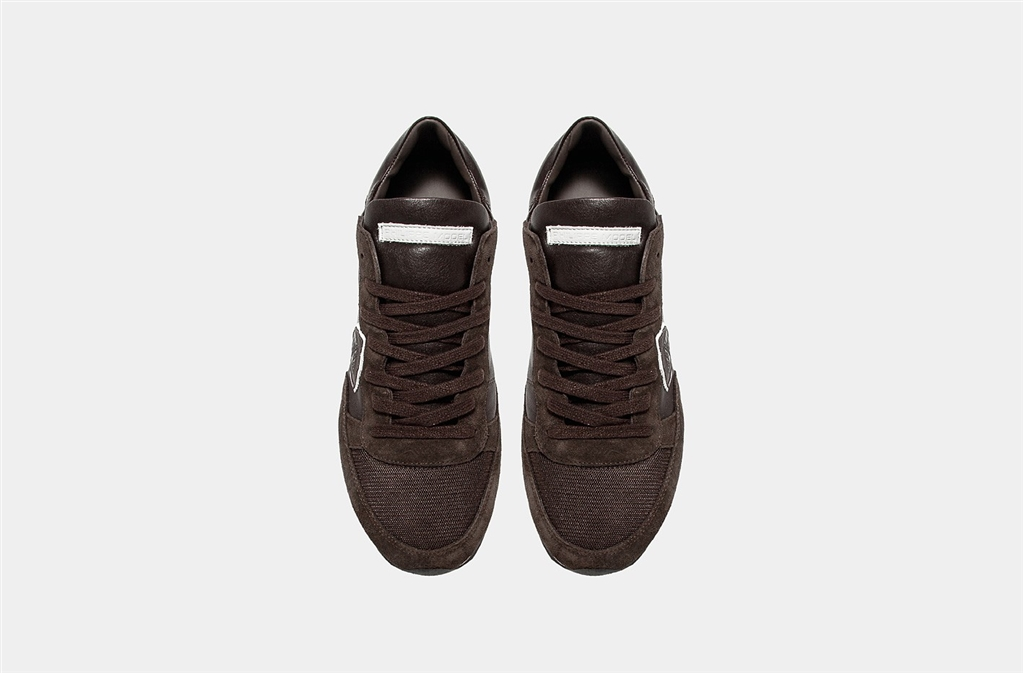 Philippe Model - Scarpe - Sneakers - tropez - veau brun 1