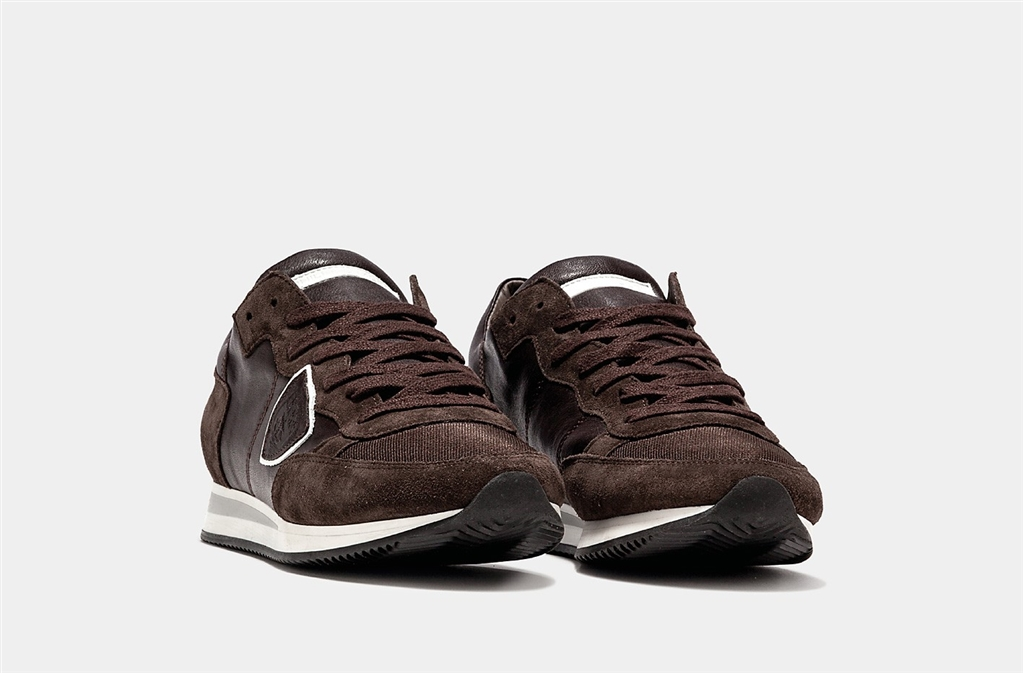 Philippe Model - Scarpe - Sneakers - tropez - veau brun 2