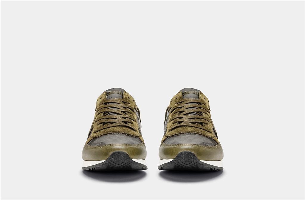 Philippe Model - Scarpe - Sneakers - tropez - camouflage vert 1
