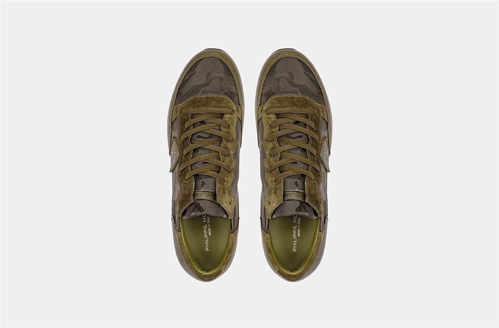 Philippe Model - Scarpe - Sneakers - tropez - camouflage vert 2