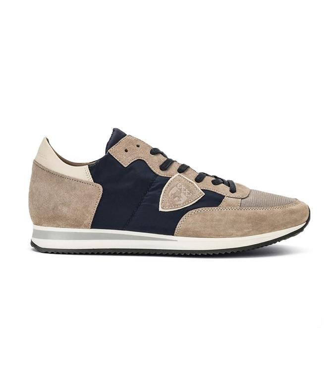 Philippe Model - Scarpe - Sneakers - TROPEZ - MONDIAL GRIS BLANC