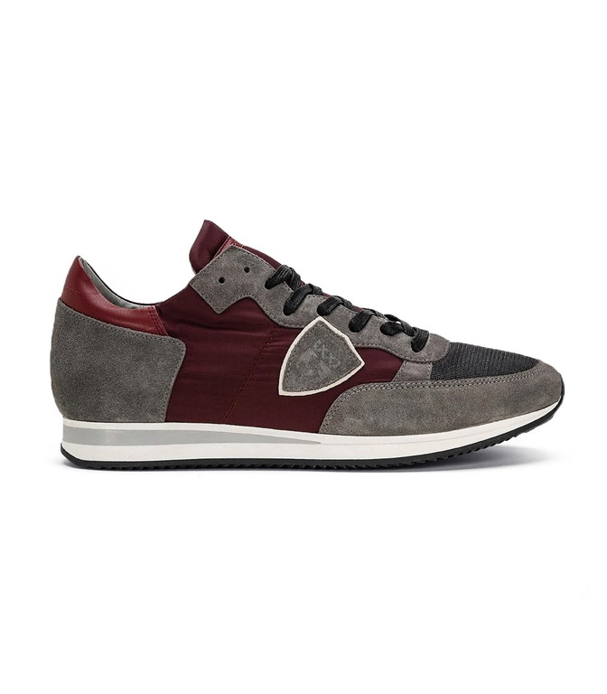 Philippe Model - Scarpe - Sneakers - TROPEZ - MONDIAL GRIS VIN