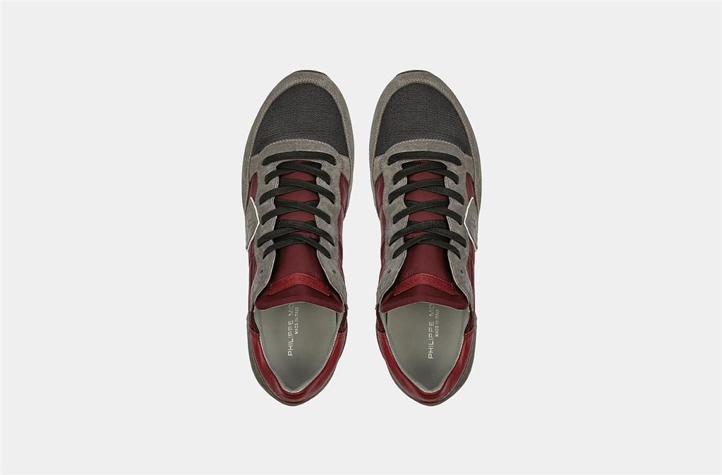 Philippe Model - Scarpe - Sneakers - tropez - mondial gris vin 2