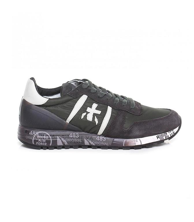 Premiata - Scarpe - Sneakers - ERIC 3412 GREEN/BEIGE