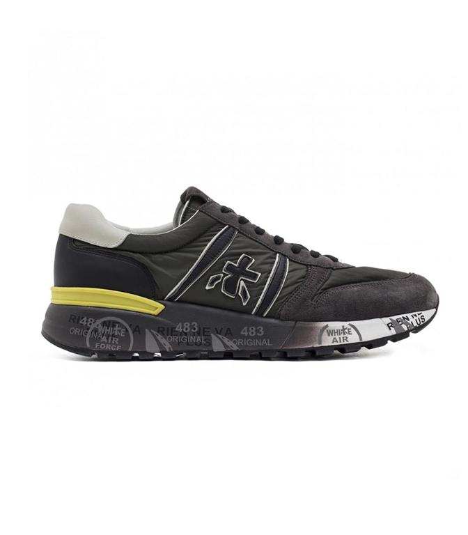 Premiata - Scarpe - Sneakers - LANDER 3244 GREEN/BLACK
