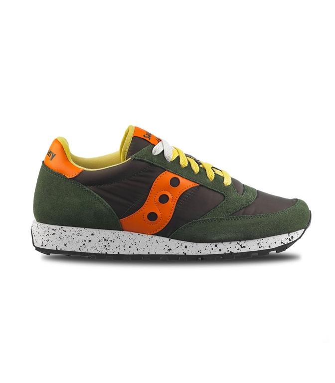 Saucony - Saldi - sneakers jazz o' green/orange