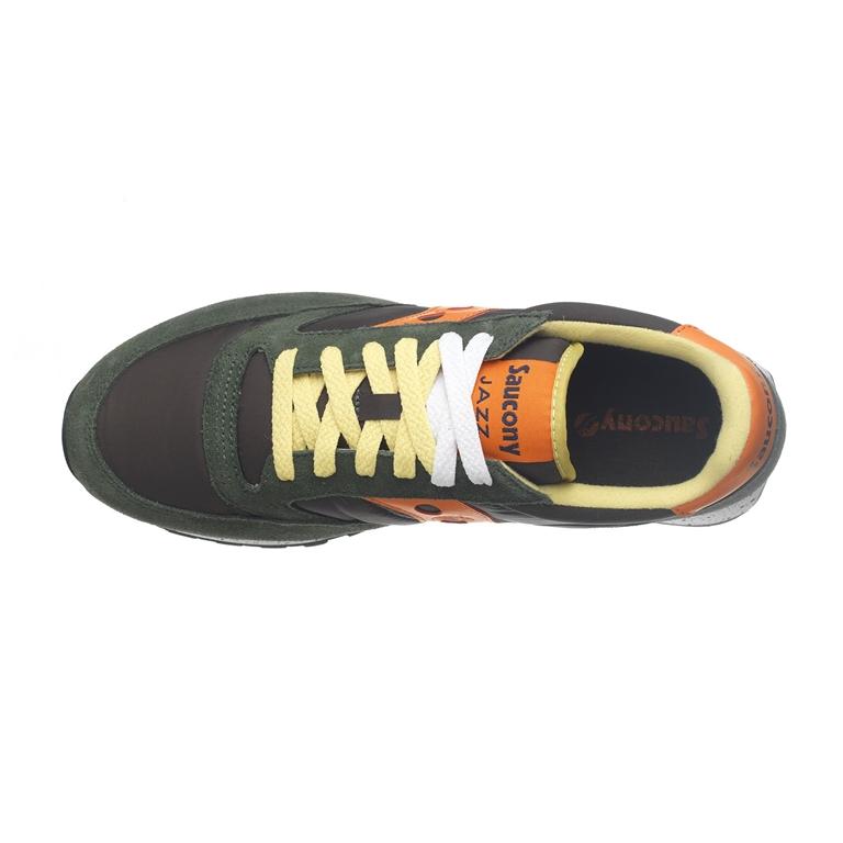 Saucony - Saldi - sneakers jazz o' green/orange 1