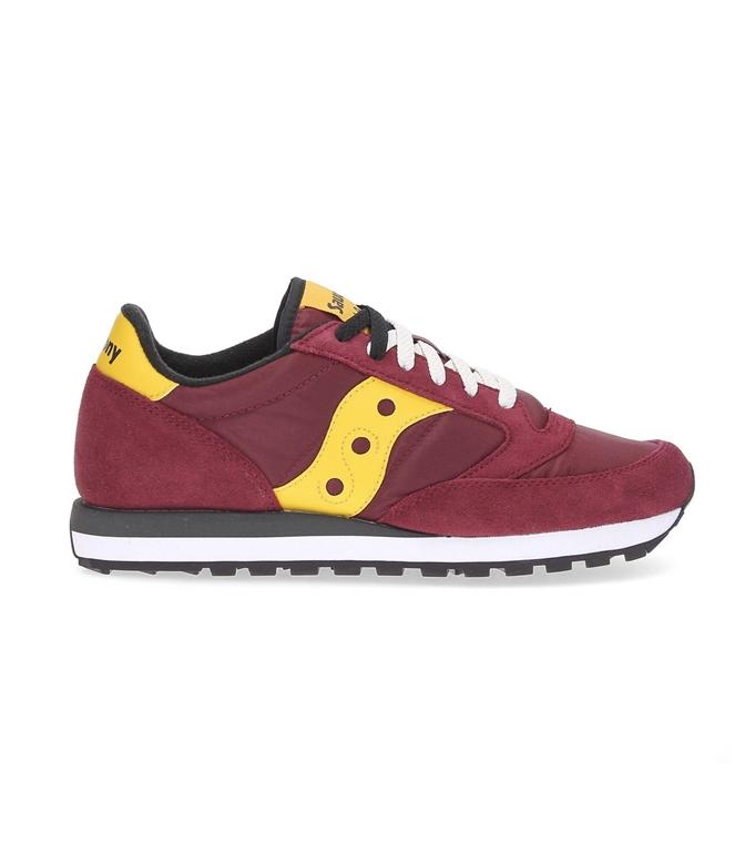 Saucony - Saldi - sneakers jazz o' red/gold