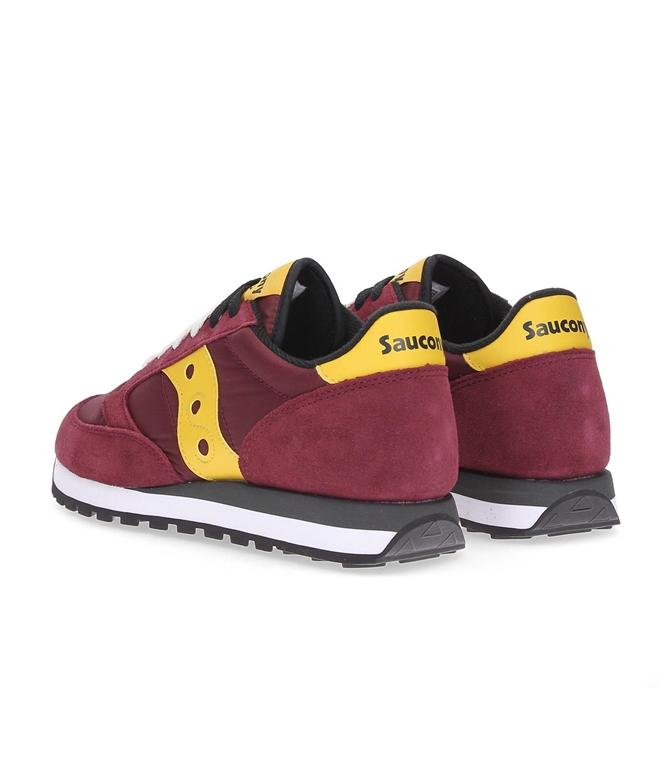 Saucony - Saldi - sneakers jazz o' red/gold 1