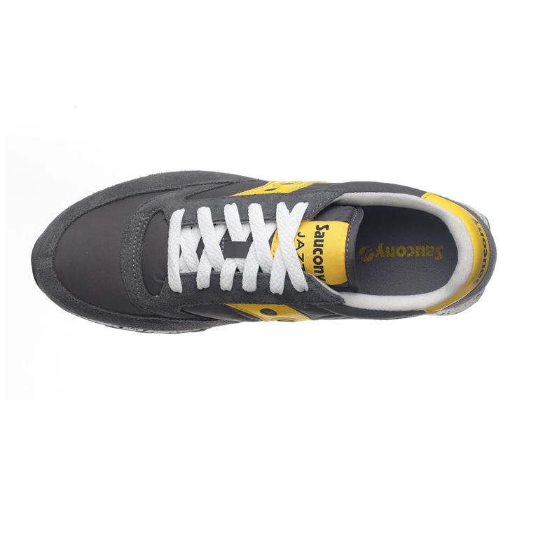 Saucony - Saldi - sneakers jazz o' grey/yellow 1