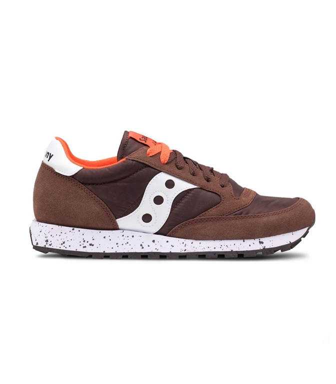 Saucony - Saldi - SNEAKERS JAZZ O' BROWN/ORANGE/WHITE