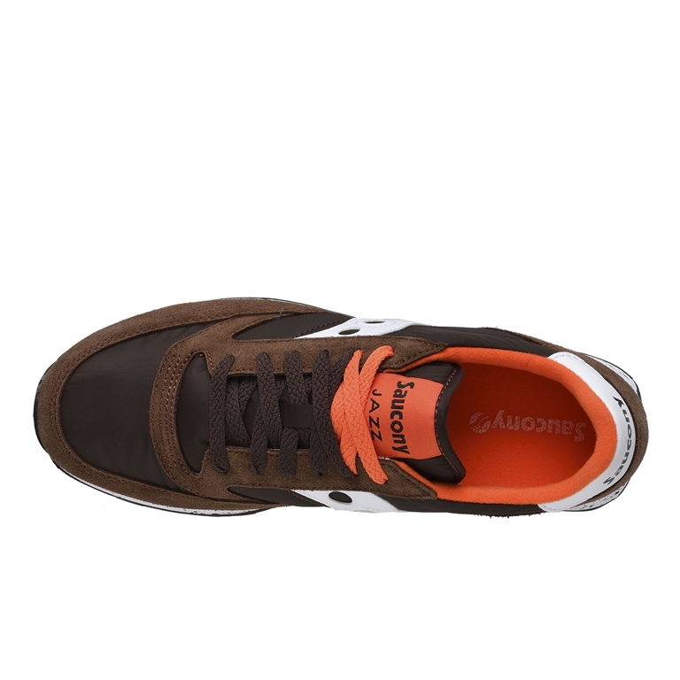 Saucony - Scarpe - Sneakers - sneakers jazz o' brown/orange/white 1