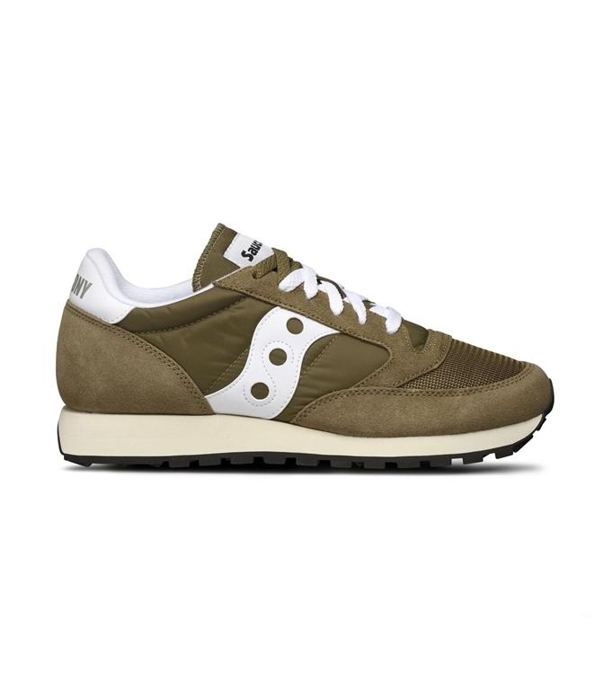 Saucony - Scarpe - Sneakers - sneakers jazz o' vintage olive/white