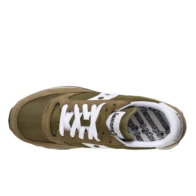 Saucony - Scarpe - Sneakers - sneakers jazz o' vintage olive/white 1
