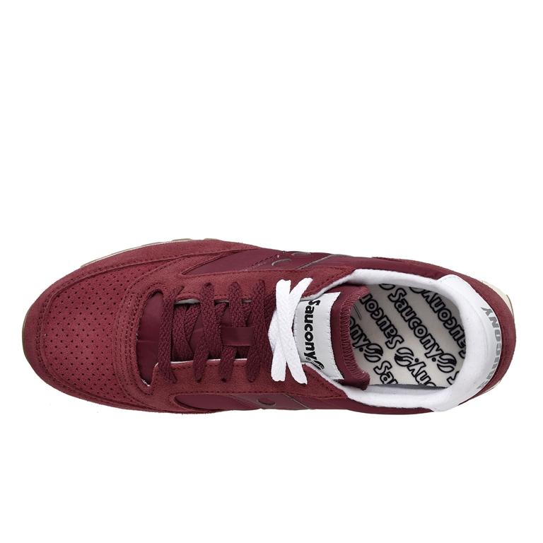 Saucony - Scarpe - Sneakers - sneakers jazz o' vintage suede maroon 1