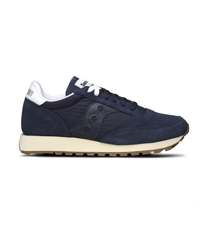 Saucony - Scarpe - Sneakers - sneakers jazz o' vintage suede navy