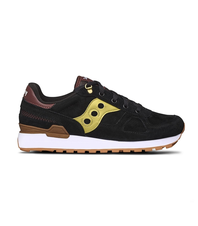 Saucony - Scarpe - Sneakers - sneakers shadow o' suede black/gold