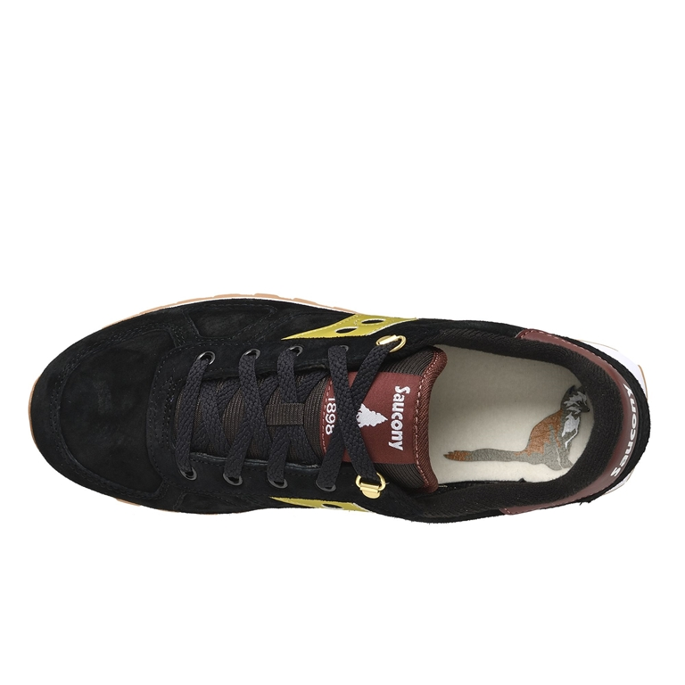 Saucony - Scarpe - Sneakers - sneakers shadow o' suede black/gold 1