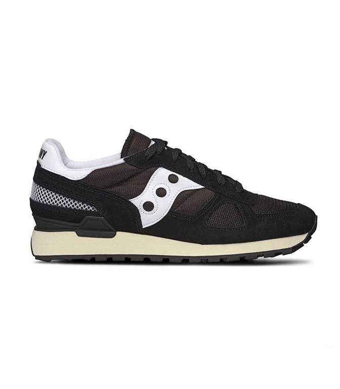Saucony - Saldi - sneakers shadow o' vintage black/white