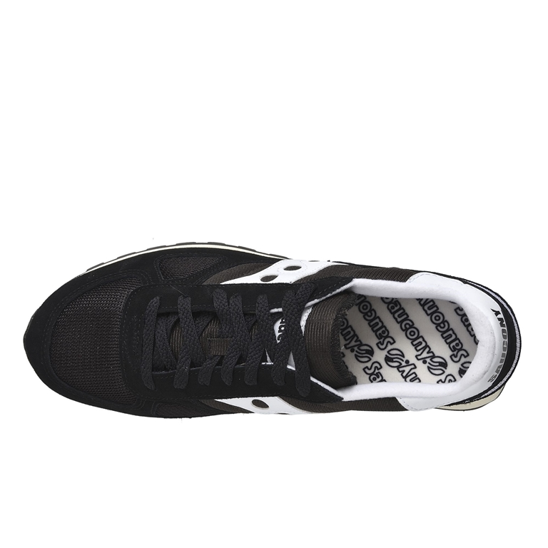 Saucony - Saldi - sneakers shadow o' vintage black/white 1