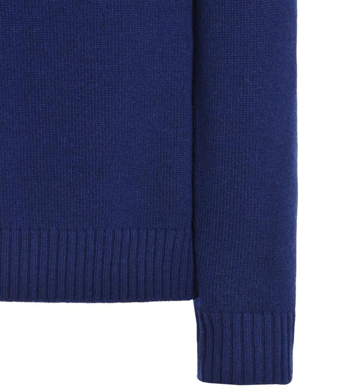 Stone Island - Maglie - maglia in lana 4 bottoni inchiostro 1
