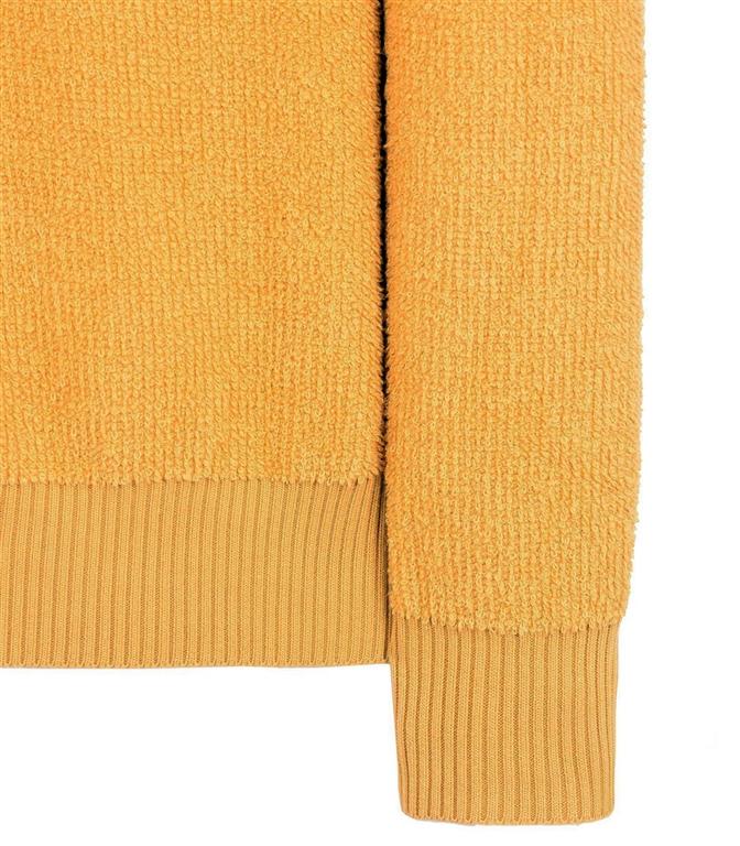 Stone Island - Maglie - maglia in spugna senape 1