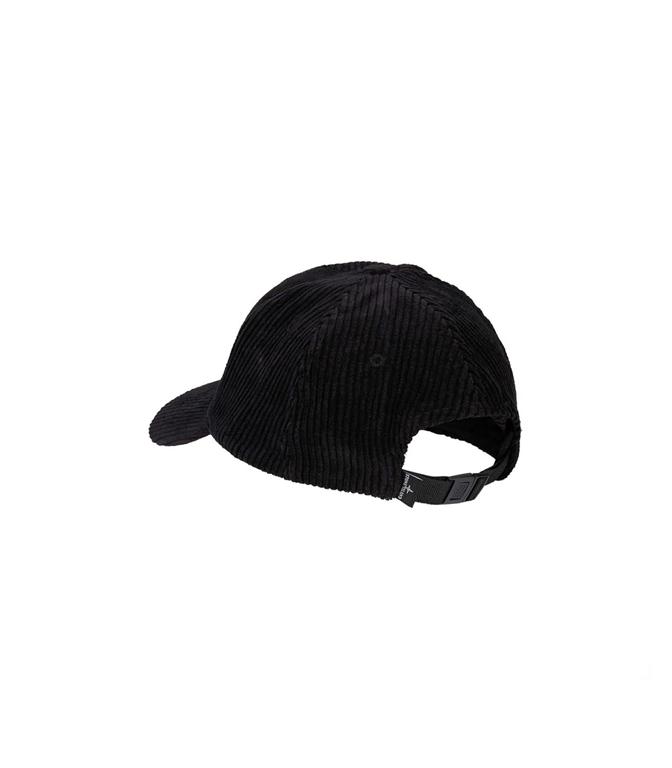 Stone Island - Cappelli - cappellino in velluto nero 1