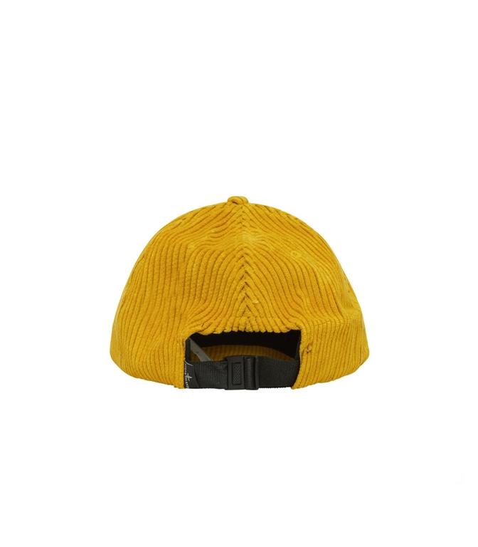Stone Island - Cappelli - cappellino in velluto senape 1